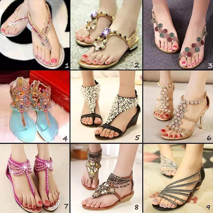 модерни сандали