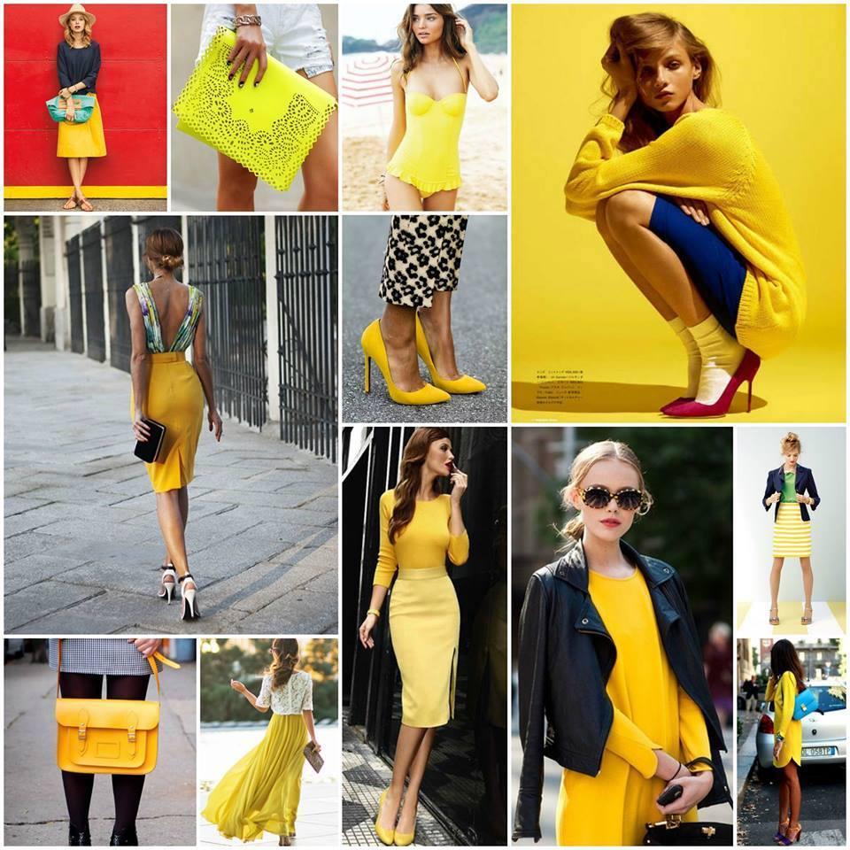 мода в жълто