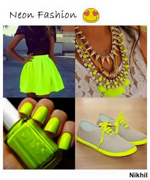 неонови цветове мода