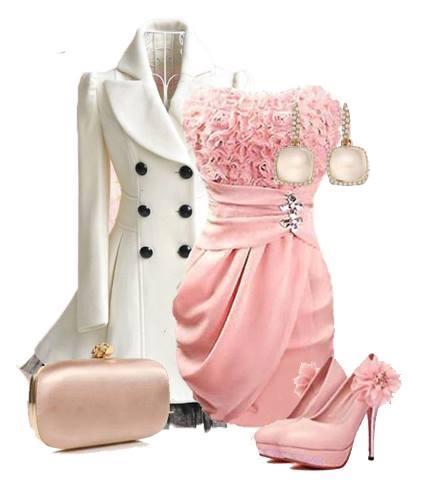 коктейлна визия розово и бяло