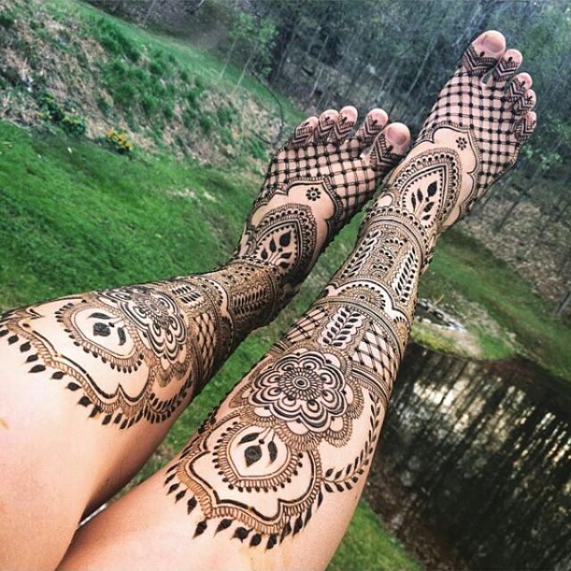 татуировка с къна