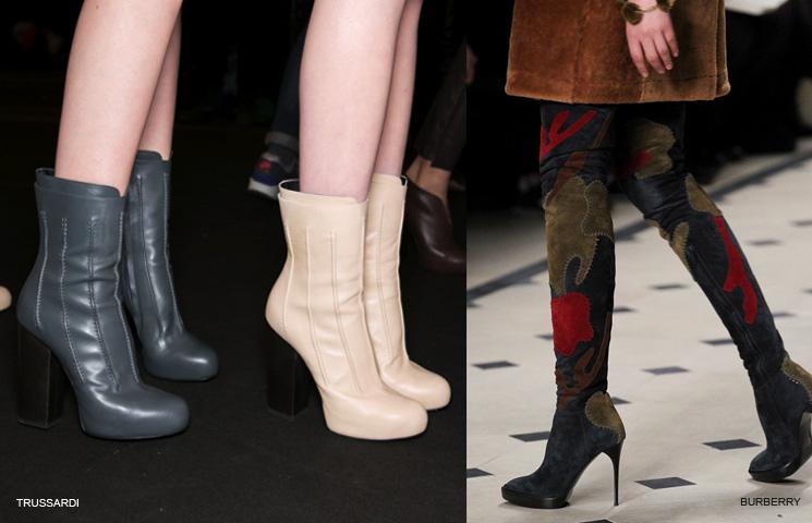 тенденции в обувките 2015-2016