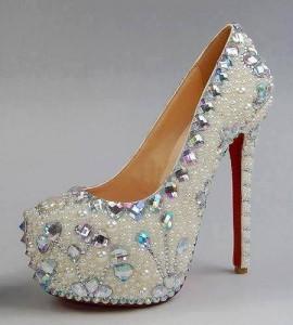 Бални Блестящи Обувки