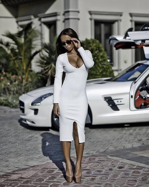 Елегантна лятна визия в Бяло