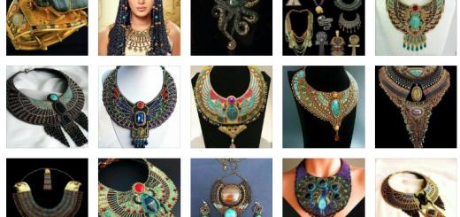 Бижута в египетски стил