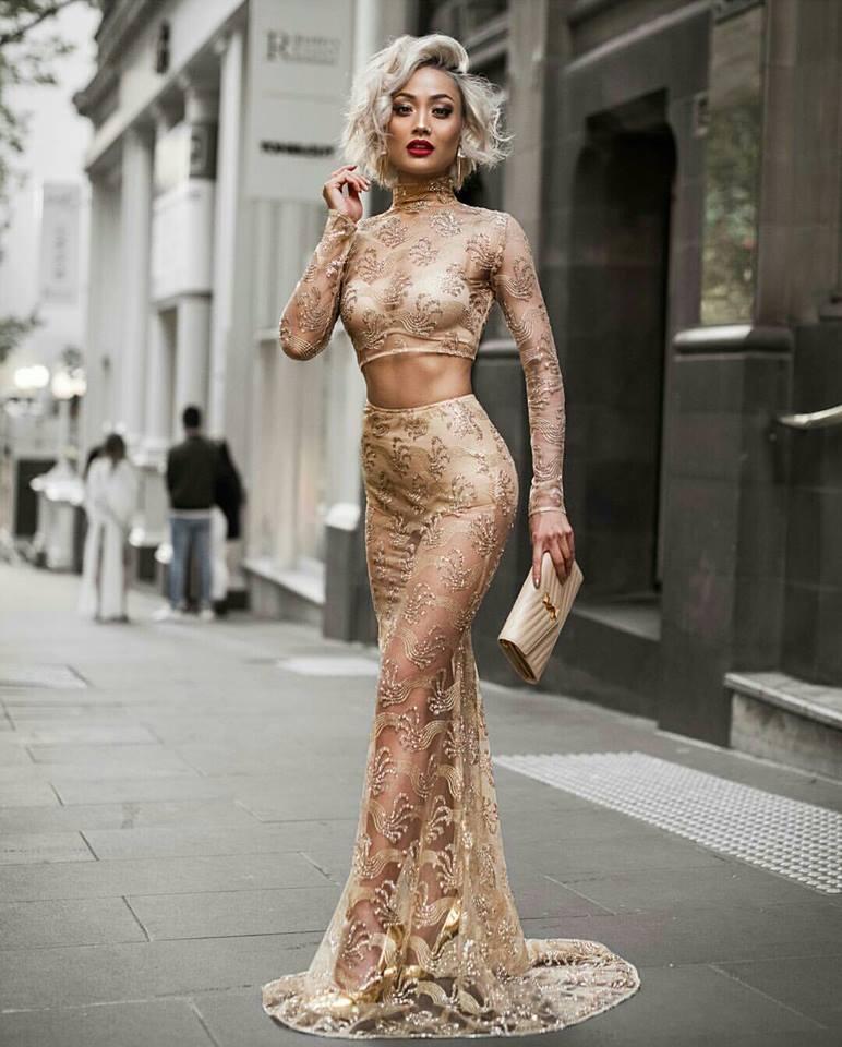 прозрачна лятна рокля