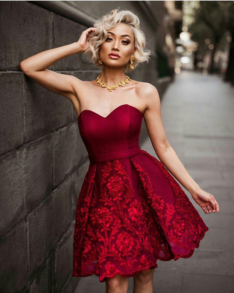 къса лятна рокля