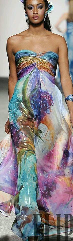 Многоцветна Лятна Рокля