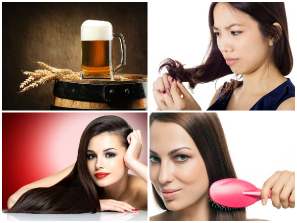 разкрасяване с бира -бирата за красива коса