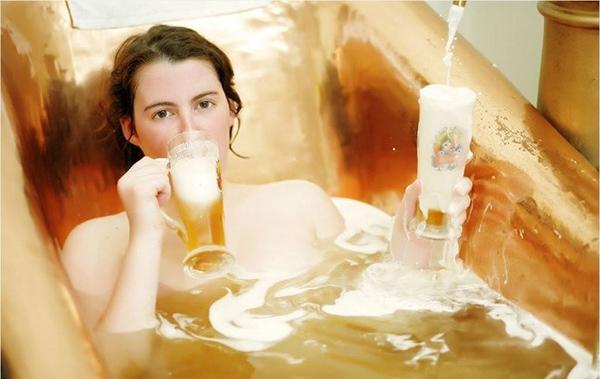 разкрасяване с бира -бирата за красива кожа