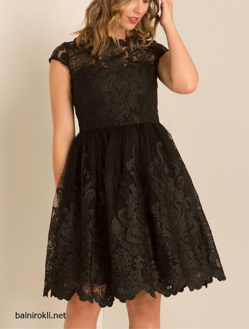 Черна Дантелена официална рокля за Макси дами размери 3XL,4XL,5XL,6XL,7XL
