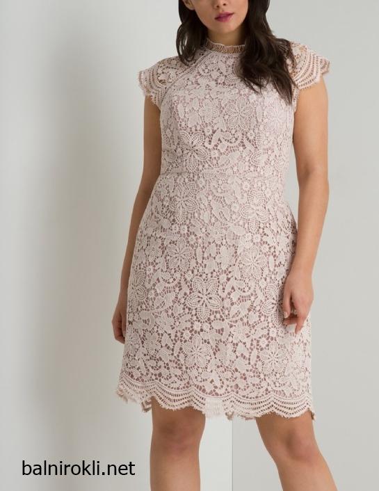 Дантелена официална рокля за Макси дами размери 3XL,4XL,5XL,6XL,7XL