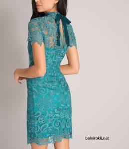 официална рокля дантела