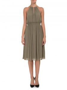 ежедневна рокля в цвят норка