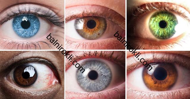 Забавен Тест- Вижте Какво Разкрива Цветът на Очите ви !
