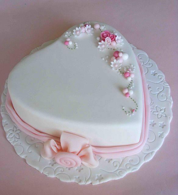 торта сърце