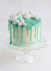 празнична зелена торта