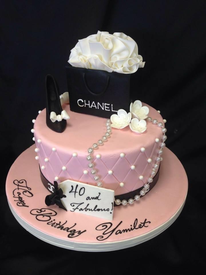 розова торта