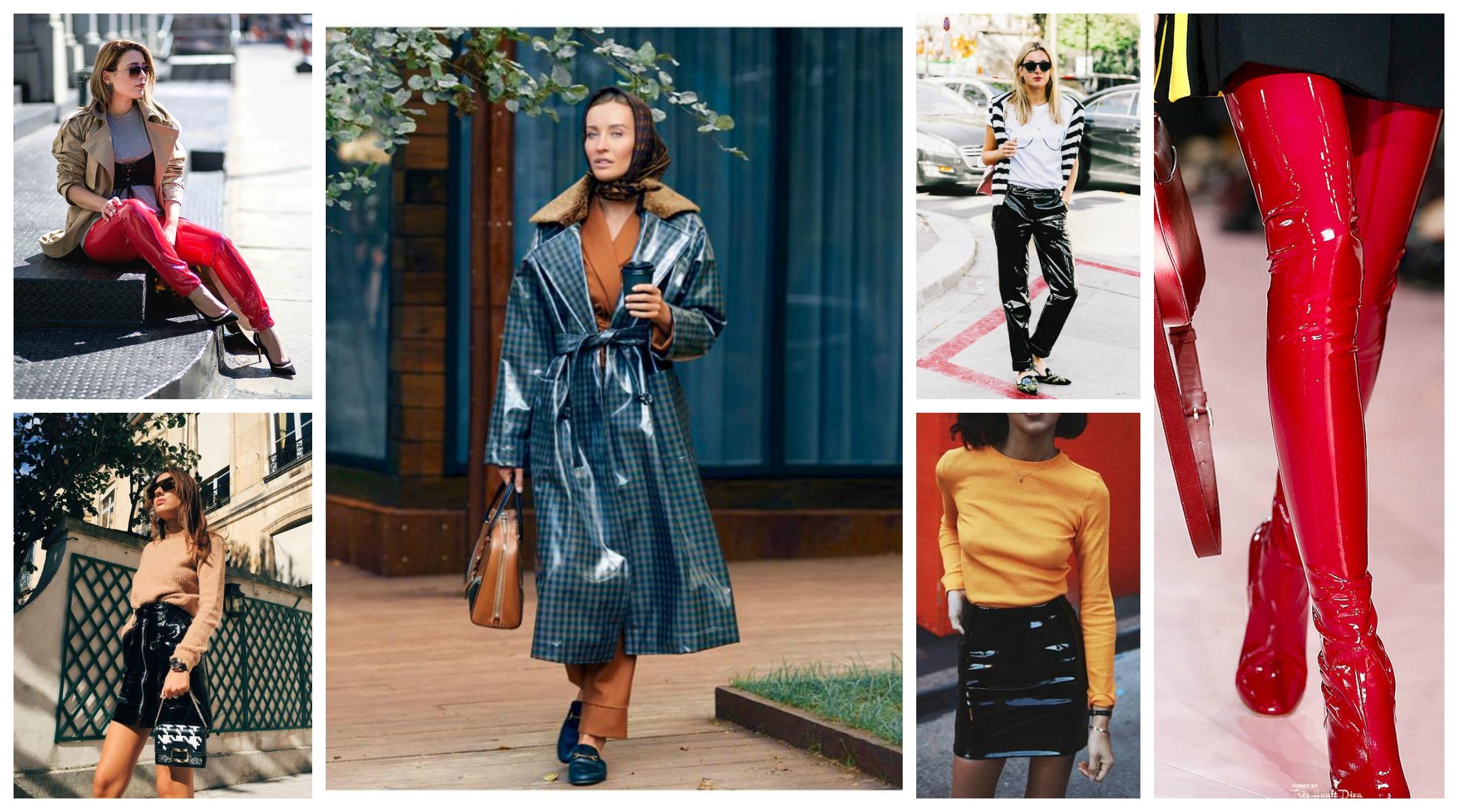 Моден Тренд 2018 Дрехи от Лак ,ВИНИЛ