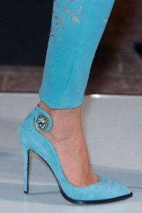 елегантни официални обувки с високи токчета