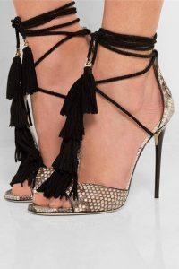 официални сандали токчета