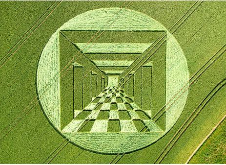 житен кръг в англия изобразяващ шахматен портал