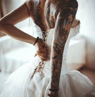 дамска татуировка за ръка