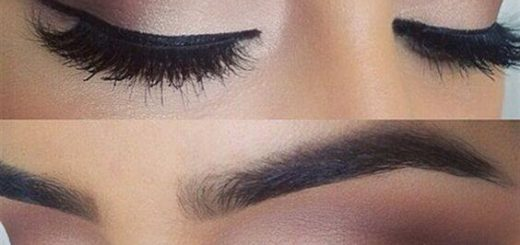 красива очна линия