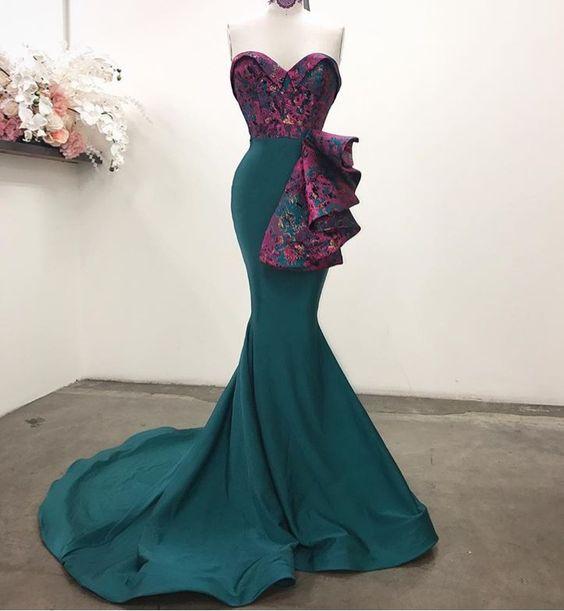 изискана елегантна рокля за бал