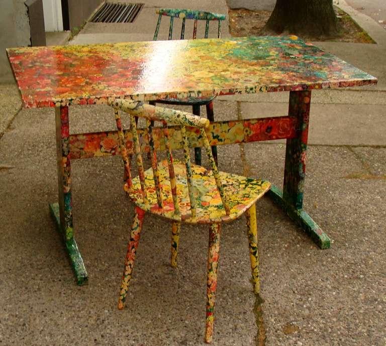 декупаж на маса и стол