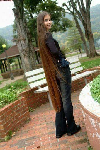 дълга коса до земята