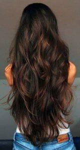 дълга коса до кръста