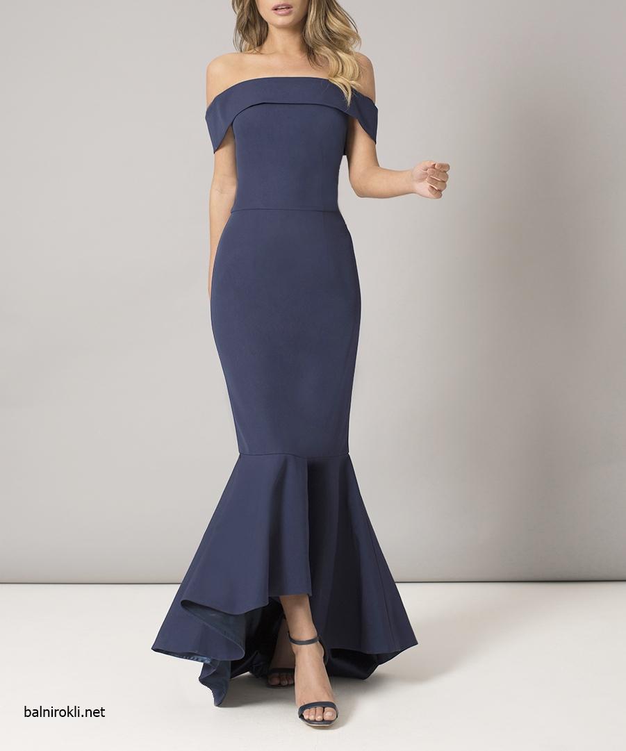 тъмносиня официална рокля