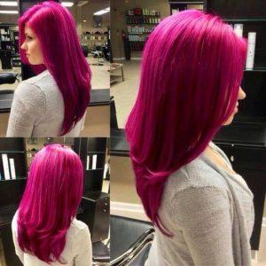 цикламена коса причческа