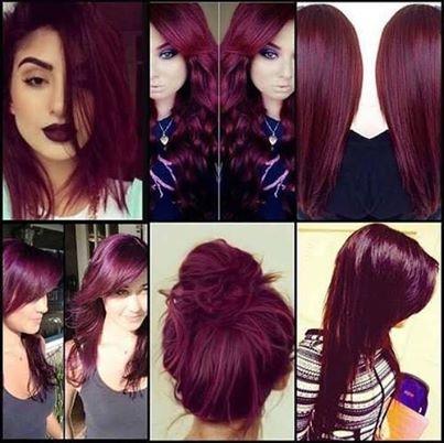 бални прически за тъмночервена коса