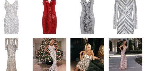 блестяща рокля 2019