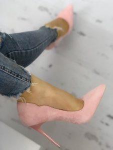 Модерни Обувки с ВИСОК ТОК