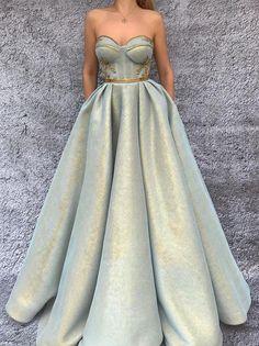 бална луксозна дълга рокля
