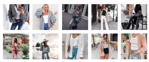 модни плетени жилетки 2020
