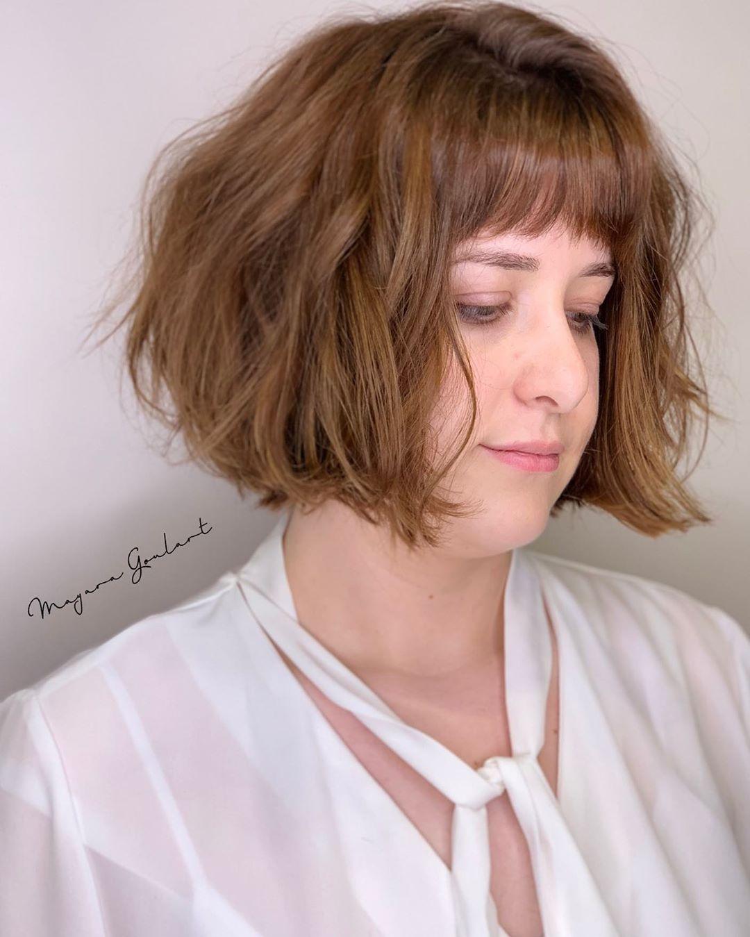 Модни Прически за Кръгло/Пълно Лице 2020