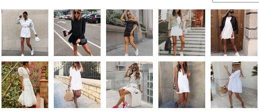 Кои Рокли Се Най-добре се Комбинират с Обувки без Токчета (+20 снимки)