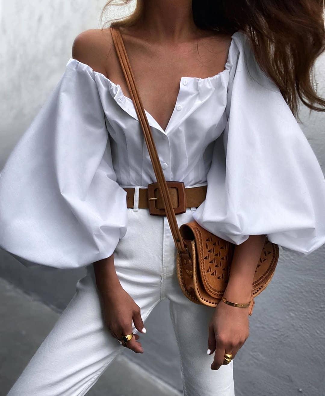Кралица на лятото: 26 перфектни модерни летни идеи в бяло,Мода в Бяло