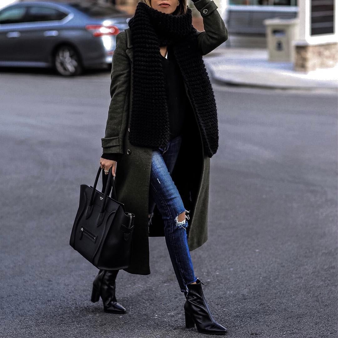 зелено палто