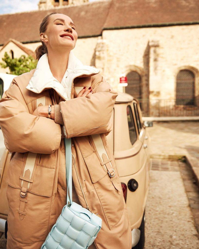 модерен зимен тренд за жени на 40-50 години