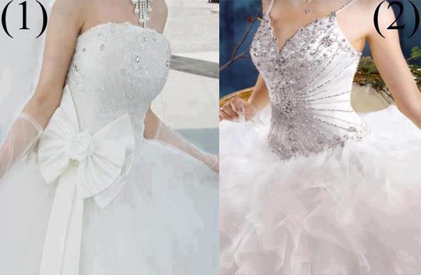 две бюстиета на рокли