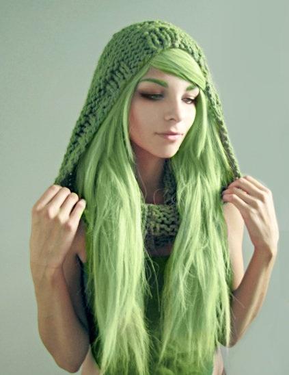 плетена качулка