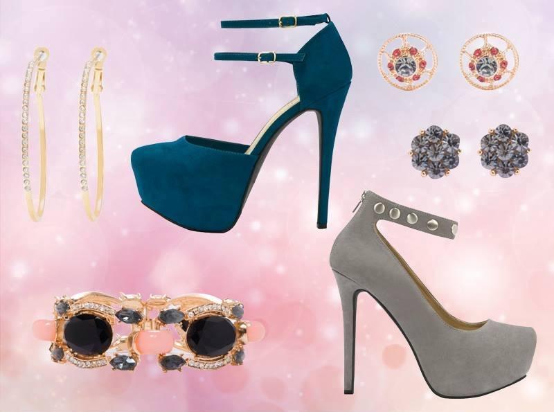 красиви бални обувки