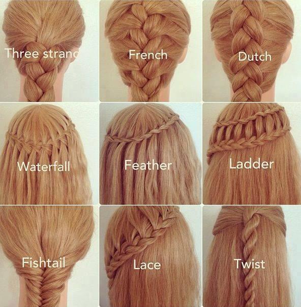 идеи за сплитане на косата
