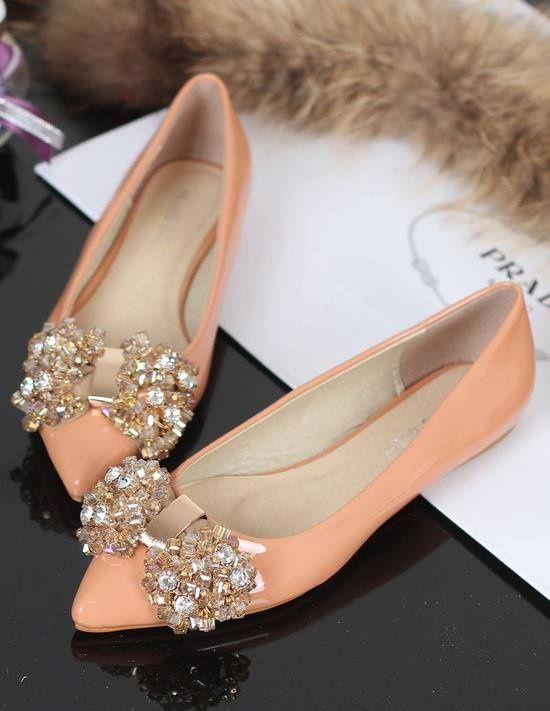 бални обувки с камъни