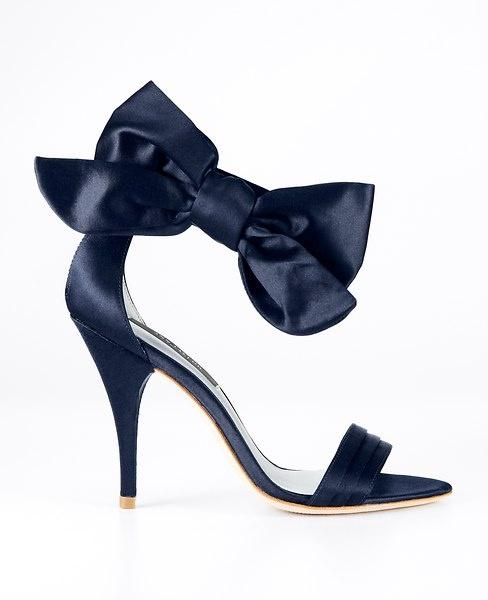 сини бални обувки 2014